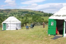 Late Summer September Special 25% Off Luxury Yurt Rental in the Welsh Borderlands