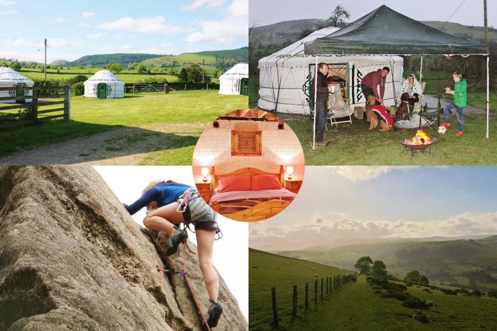 Team building activities glamping in rural Shropshire