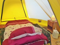 Solo Traveller Budget Glamping