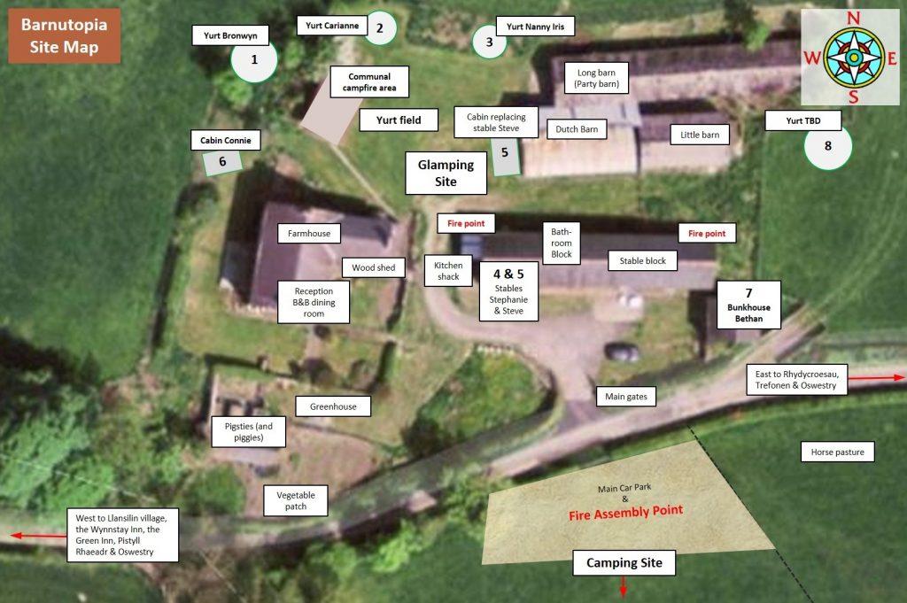 Glamping Site Plan