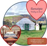 Shropshire Glamping Wedding Venue from Summer 2017