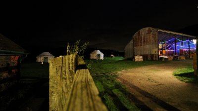 Shropshire party venue, Dutch barn at Barnutopia