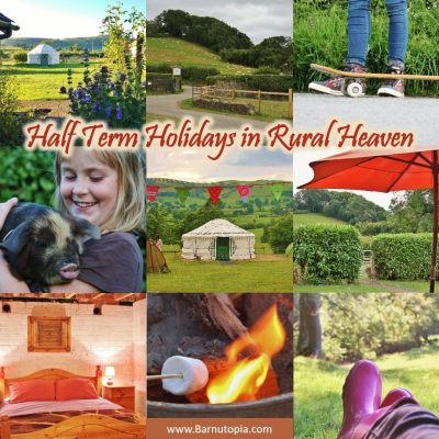 Half Term Holiday in Rural Heaven