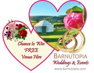 WINNER of Free Venue Hire for your Shropshire Wedding
