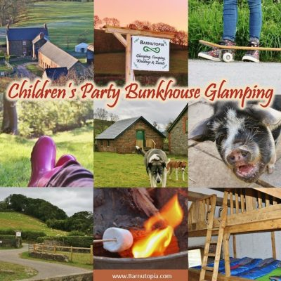 Children's Party Bunkhouse Glamping
