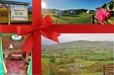 Buy a gift glamping