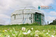 Add a Yurt at Barnutopia Crowdfunder