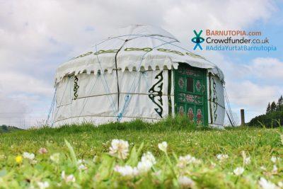 Add a Yurt at Barnutopia Crowdfunder