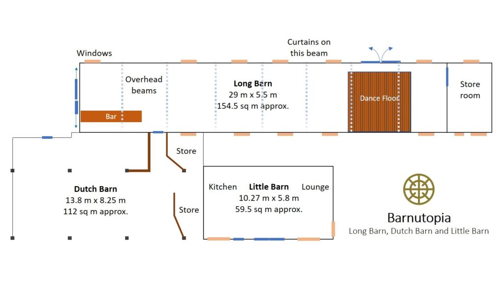 Wedding barns floor-plans Barnutopia