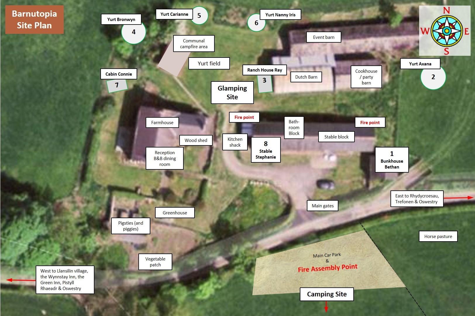 Barnutopia Site Plan