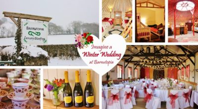 Christmas wedding or event at Barnutopia