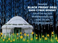 Black Friday Deal Glamping or Venue hire