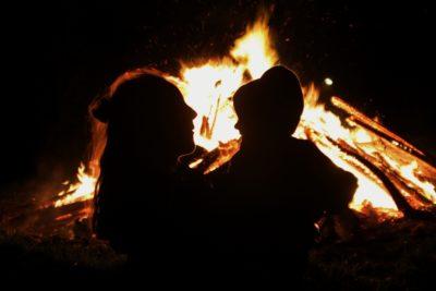 Guy Fawkes glamping bonfire weekend