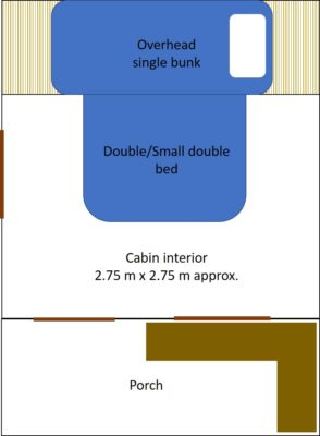 Tiny House Tamise configuration.
