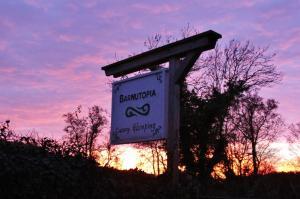 Autumn sunset at Barnutopia