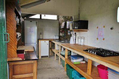 Kitchen shack at Barnutopia