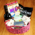 Barnutopia Welcome Basket with Luxury Treats