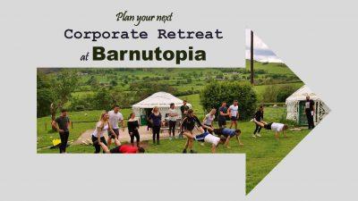 Corporate Retreat Package at Barnutopia