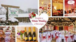 Christmas wedding or event at Barnutopia