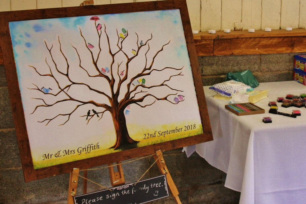 Family Tree Wedding Guest Book