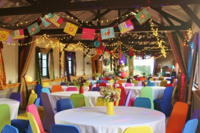 rainbow wedding decorations
