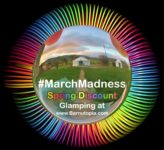 March Madness Glamping Discount