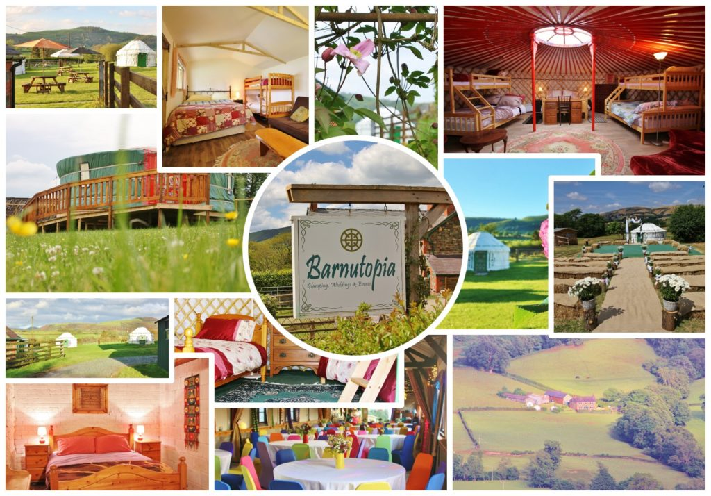 Barnutopia Glamping Accommodation, Holidays, Weddings and Events
