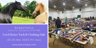 Used horse tack sale at Barnutopia