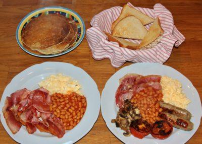 Breakfast at Barnutopia ~ something to look forward to in 2020