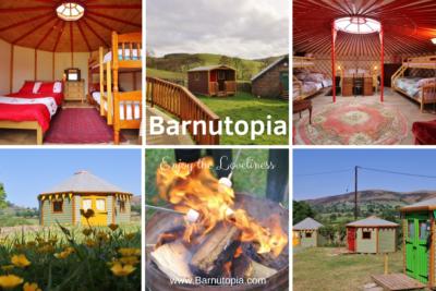 Single Parent and Family Glamping at Barnutopia