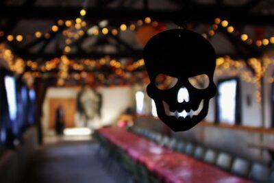 Halloween glamping weekend
