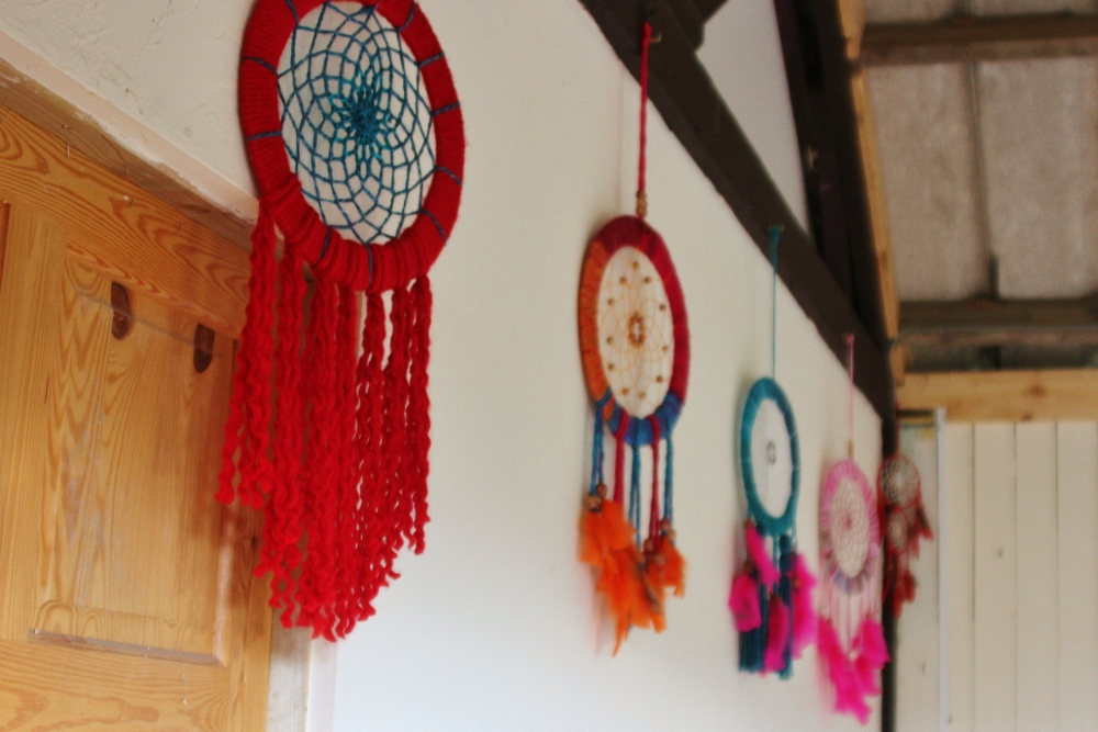 Dream catcher wedding favours